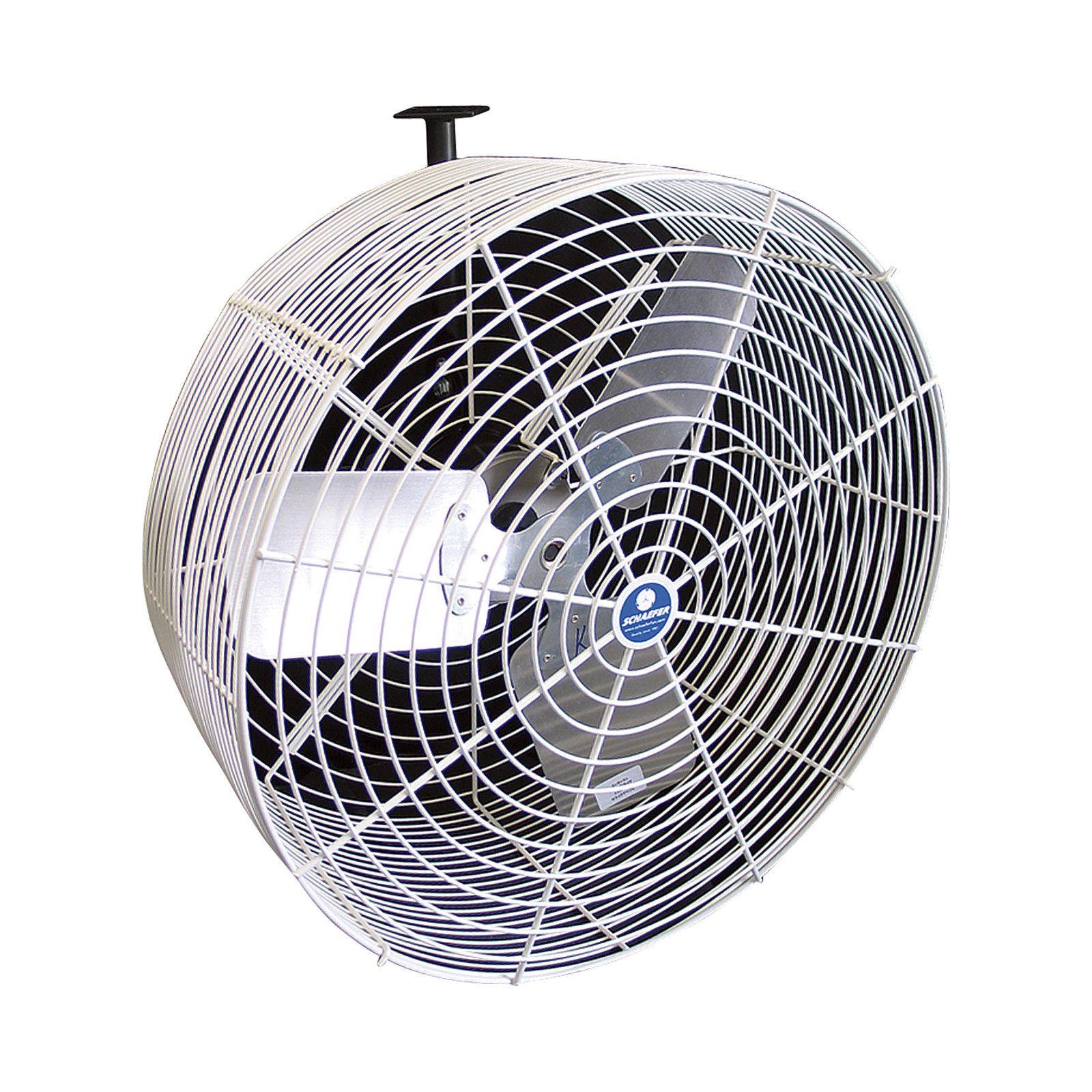 Schaefer Versa Kool Air Circulation Fan 24in 7409 Cfm 1 2 Hp 115 230v Vk24 Industrial Fan Wall Mounted Fan Fan