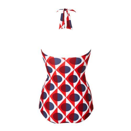Tweka Badpak.Tweka Badpak In All Over Print Rood In 2019 Products Swimwear