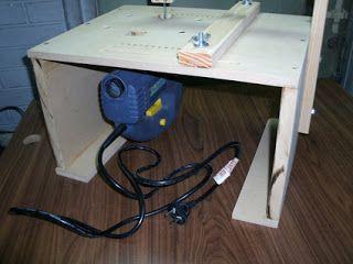 Mesa para caladora de mano | IDEAS | Herramientas caseras