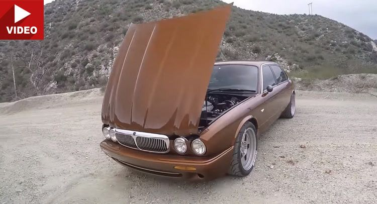 This 575hp Ls3 V8 Swapped Jaguar Xj8l Is A Project Done Right