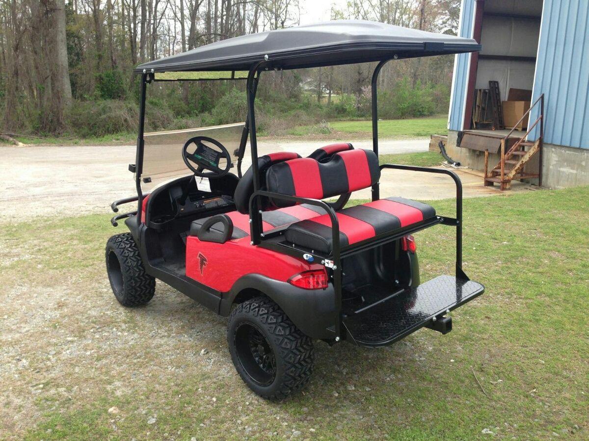 Red Black and Falcon Decals Club Car | Go Team Go | Pinterest | Golf on cyclone golf cart, rc golf cart, roadster golf cart, baja golf cart, toro golf cart, hornet golf cart, bombardier golf cart, batman golf cart, gamecock golf cart, rat rod golf cart, bronco golf cart, rocket golf cart, f-22 golf cart, trike golf cart, flamingo golf cart, villager golf cart, solorider golf cart, mustang gt golf cart, beast golf cart, raptor golf cart,