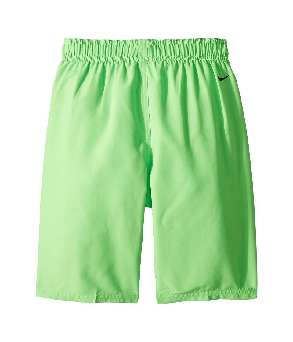 58cf9a6c11 Nike Kids Swim Breaker Volley Short (Big Kids) Boy's Swimwear Green Strike