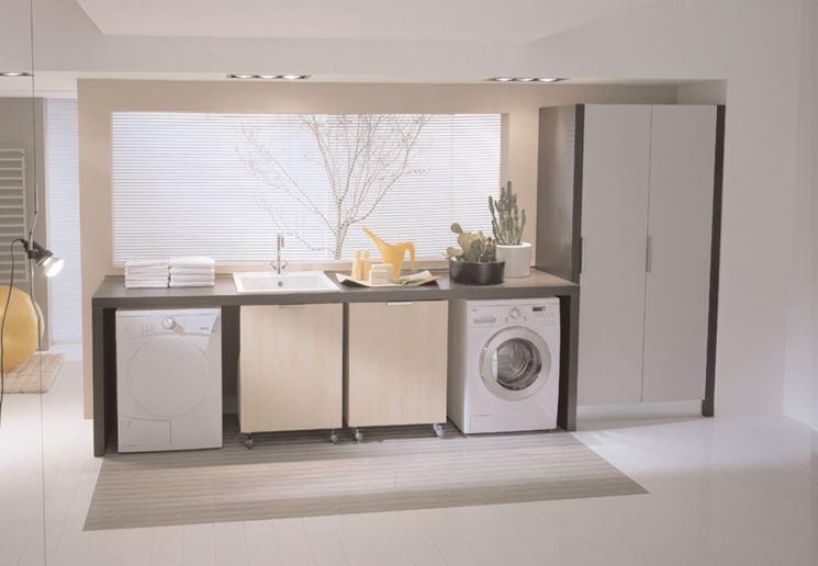 Ideagroup mobili lavanderia asciugatrice nel 2019 for Disegni mobili