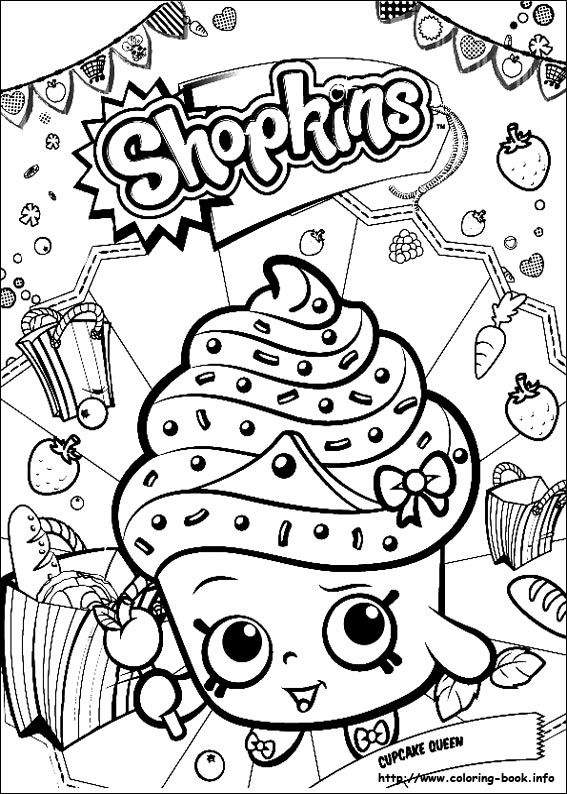 Shopkins Coloring Picture