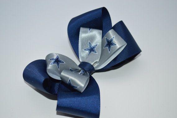 Dallas Cowboy's Hair Bow