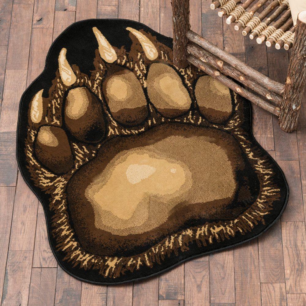 Bear Claw Rug | Montana Cabin Ideas | Pinterest | Bear claws, Bears ...