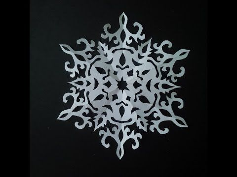 How to make paper snowflake 5 beautiful snowflake pattern for making paper snowflakes is easy in this tutorial i will show you the best way to make christmas snowflakes additionally i will show you examples of the solutioingenieria