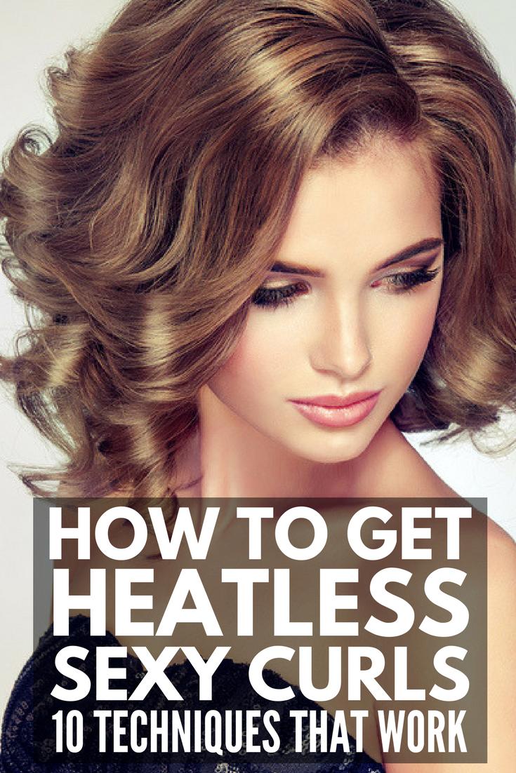 Heatless Curls That Last 10 Looks We Love Overnight Curls Short Hair Heatless Curls Heatless Curls Short Hair