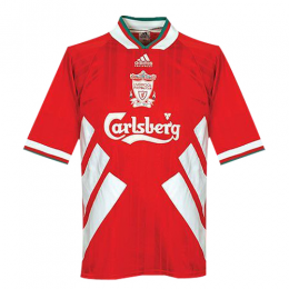 93 95 Liverpool Home Red Retro Jerseys Shirt Voetbalshirts Voetbal