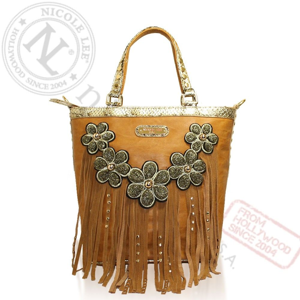 Nicole Lee Flower Handbags | Wholesale Contemporary
