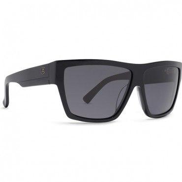 06309cd581704 Von Zipper Mens Sunglasses Desmond Black Gloss Grey
