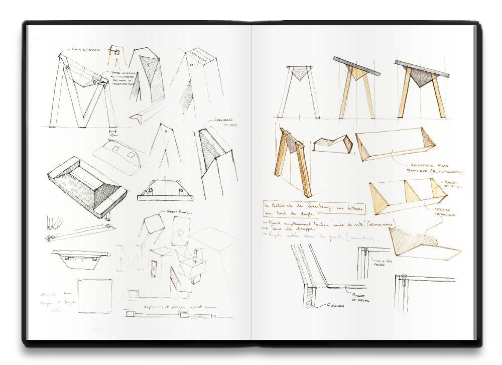 table num rique mm par alix videlier productos. Black Bedroom Furniture Sets. Home Design Ideas