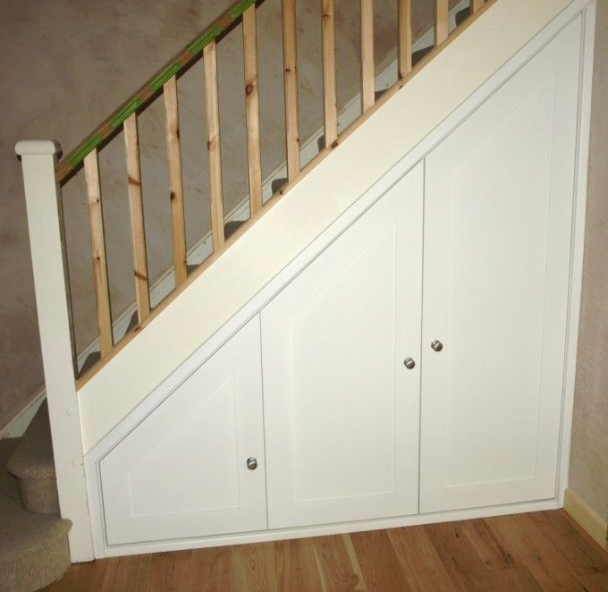 Under Stairs Storage Unit With Doors