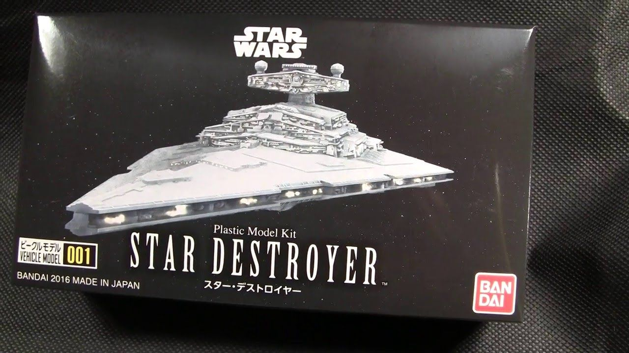 Bandai Star Wars Star Destroyer Model kit review