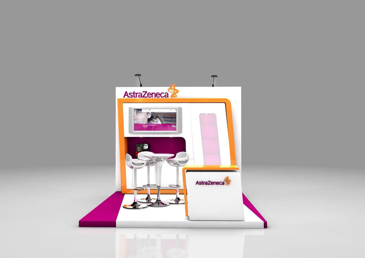 Exhibition Booth Design For Astrazeneca Con Imagenes