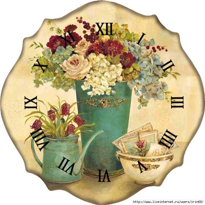 Reloj para cocina zegary clocks pinterest clock for Peinture shabby chic