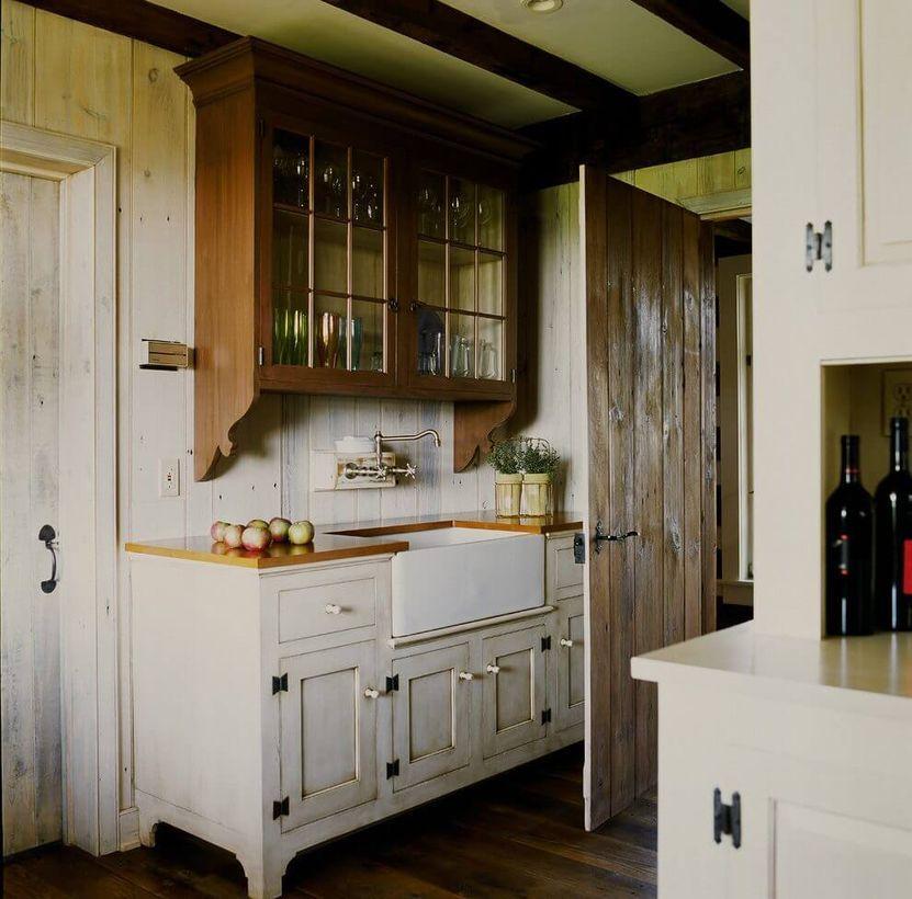 24 Incredible Farmhouse Kitchen Cabinet Design Ideas In 2020 Kitchen Cabinet Design Kitchen Cabinets Decor Rustic Farmhouse Kitchen