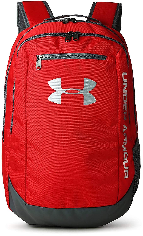 Under Armour Ua Hustle Backpack Ldwr Mochila Hombre Rojo Red Graphite Silver 600 Talla única Amazon Es Deportes Mochila Para Mujer Under Armour Maletas