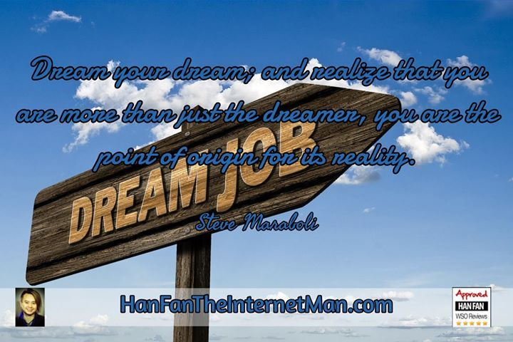Dream your dream sign up for your daily tips early bird