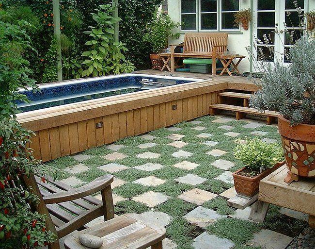 te preguntas qu hacer con los jardines pequeos incluso si no tienes mucho espacio - Jardines Pequeos Con Piscina
