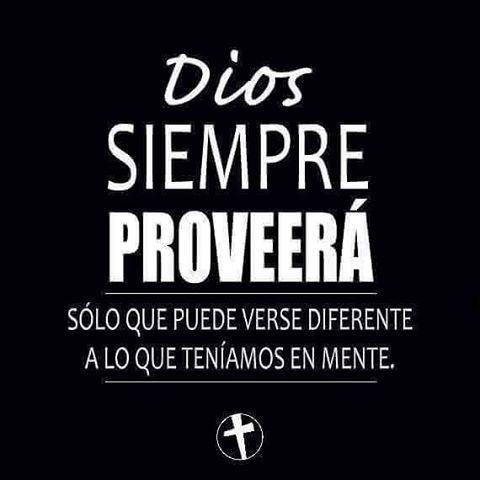 ¡Confía en Dios siempre! #DiosEsFiel