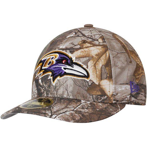 260dbd5981f7f Baltimore Ravens New Era Low Profile 59FIFTY Hat - Realtree Camo   BaltimoreRavens