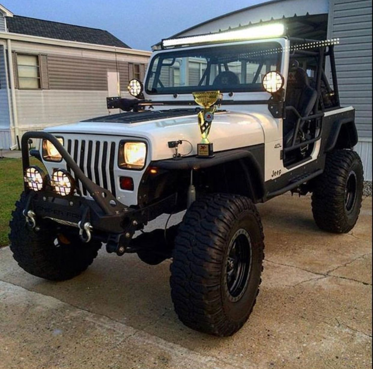 Pin De Frank Molinero En Jeep Wrangler Yj Tj Jeep Life