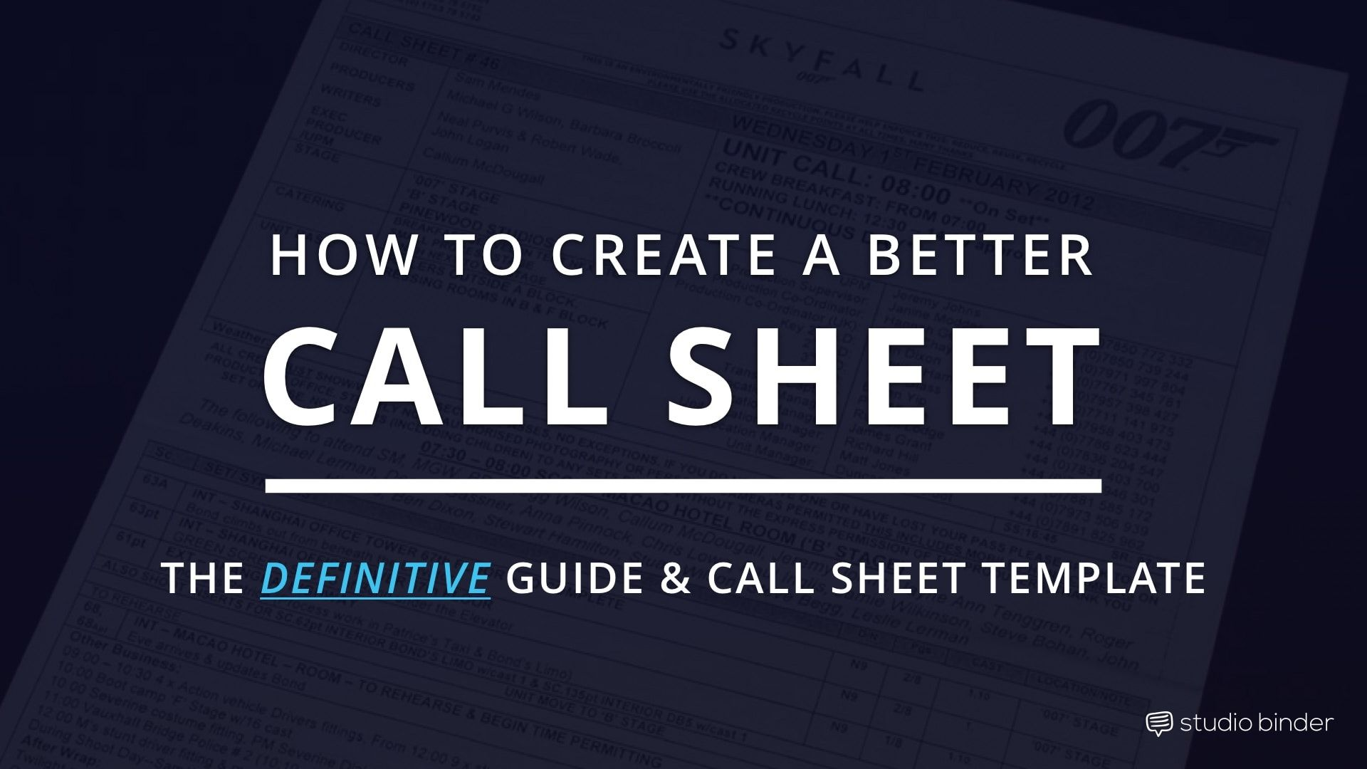 Call Sheet Template Docstoc Docs | Templates | Pinterest | Template, Film  Industry And Thrillers