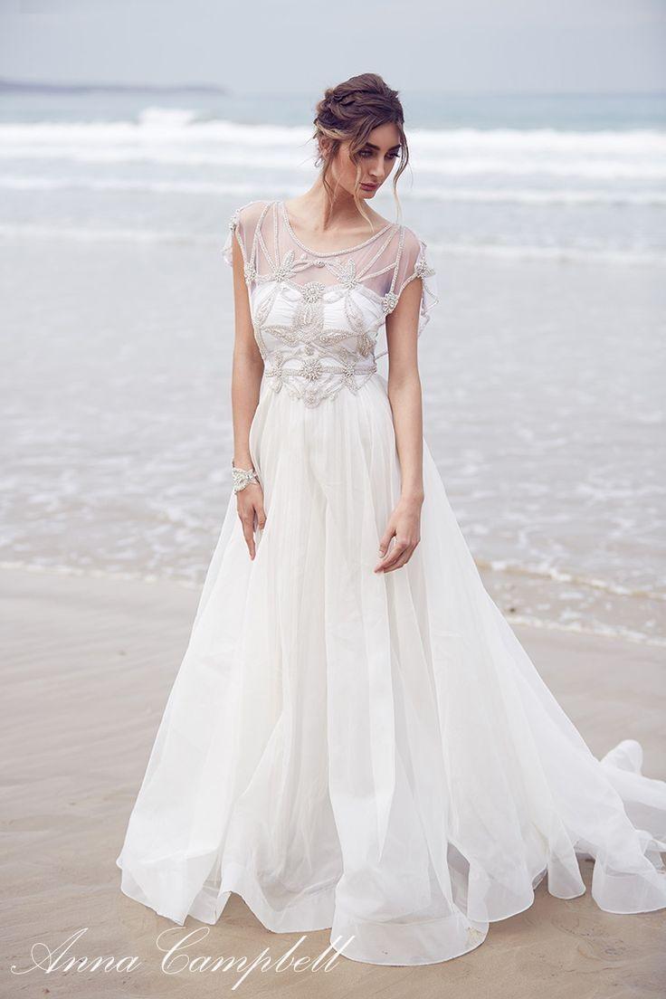 Anna Campbell Modest Wedding Dress From Alta Moda Bridal In Salt Lake City Utah