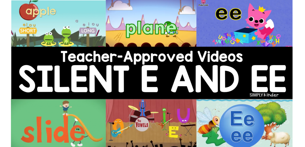 Teacher-Approved Silent E and Double E Videos | ELA Goodies