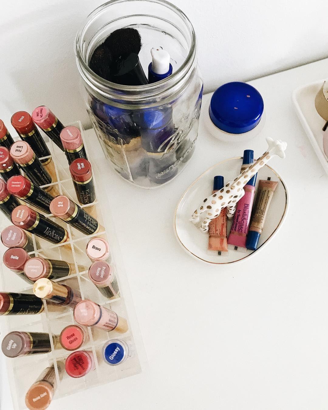 My SeneGence Makeup Storage In Full Swing