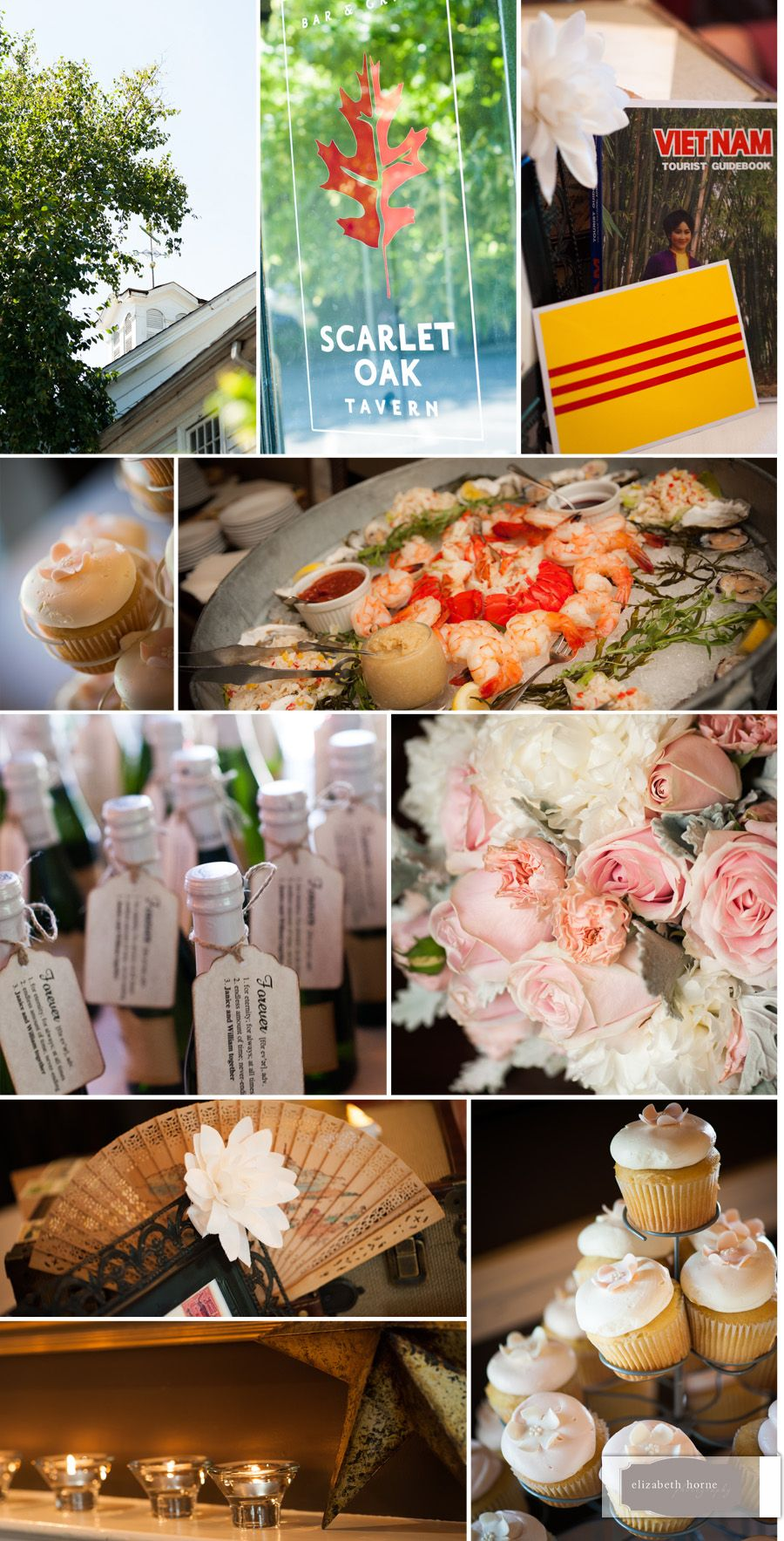 Many Special Touches At This Small Wedding Reception Hosted Scarlet Oak Tavern