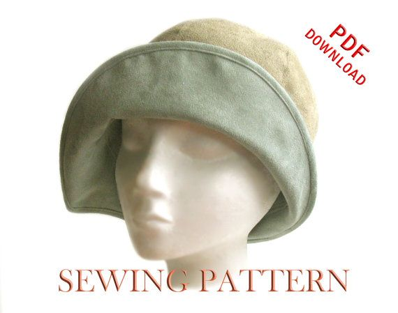 SEWING PATTERN - Eleanor, 1920s Twenties Cloche Hat for Child or ...