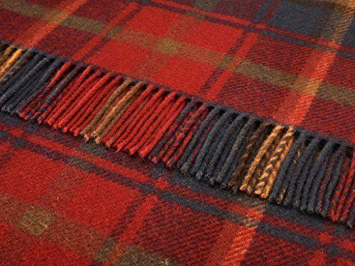 Bronte Throw Blanket - Tartan Throw - Pure New Wool (Dark Maple) Bronte http://www.amazon.com/dp/B00PBK8GEG/ref=cm_sw_r_pi_dp_0-S4ub1D8Q7KQ