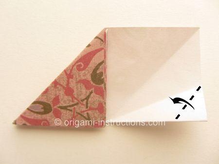 Origami Cherry Blossom Dish Step 13