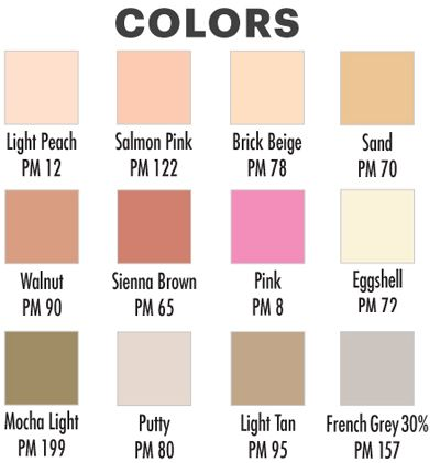 The Colors For Skin Tone Prove To Be Very Accurate To Real Life