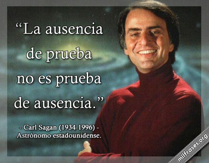 Carl Sagan Astrónomo Estadounidense Frases Pinterest