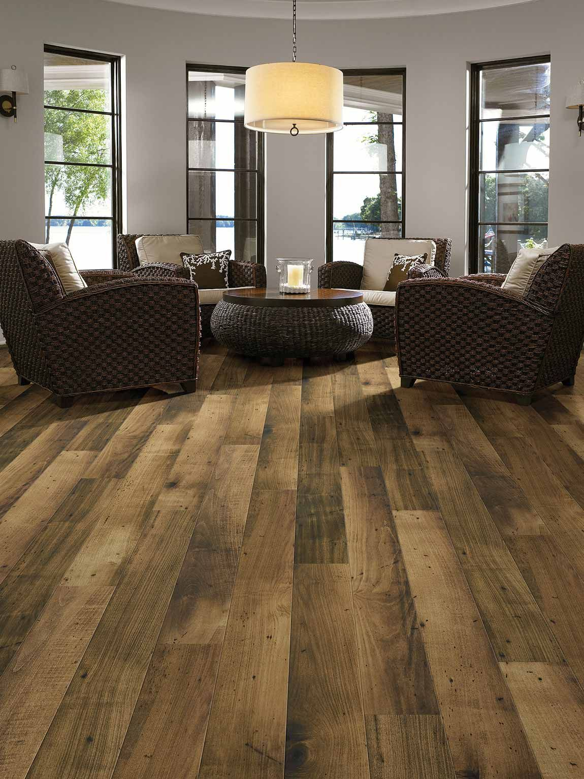 Living RoomModern ContemporaryWood LookMedium Wood