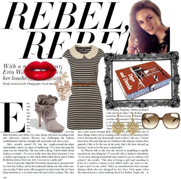 """Rebel Rebel Clutch"" by hintofvintageclutch on Polyvore"