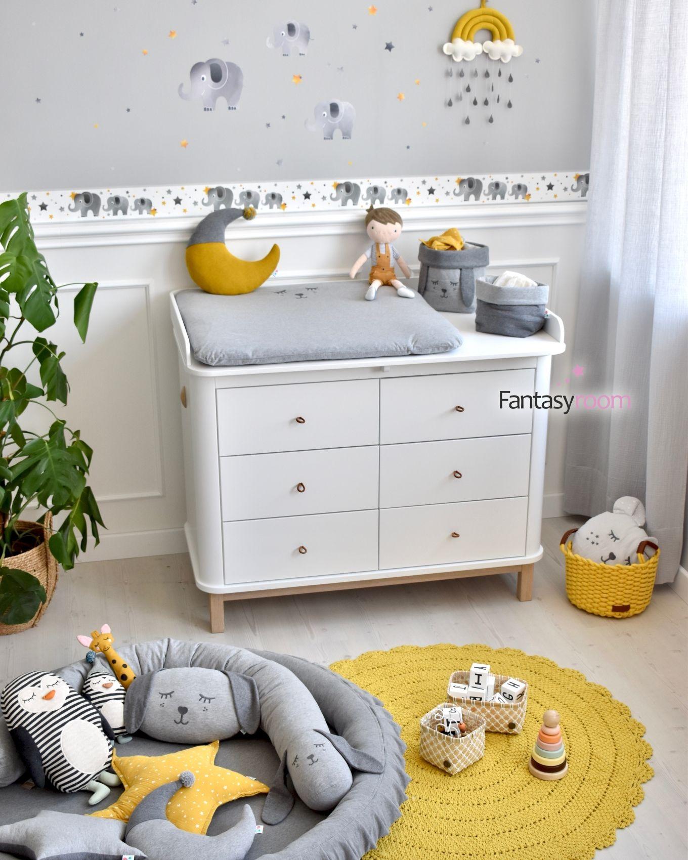 Super Suss Super Stylisch Mit Der Niedlichen Elefantenbordure Kannst Du Deine Kinderzimmerwand In Wenigen Minuten In 2020 Babyzimmer Kinderzimmer Ideen Kinder Zimmer