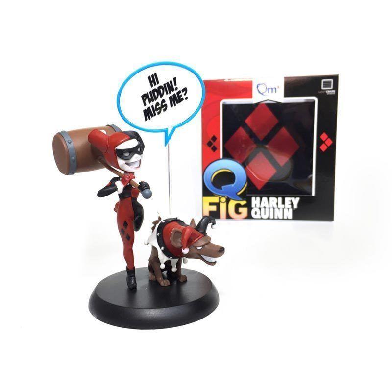 Harley Quinn figure Lootcrate Exclusive Q fig QMX Batman DC Comics