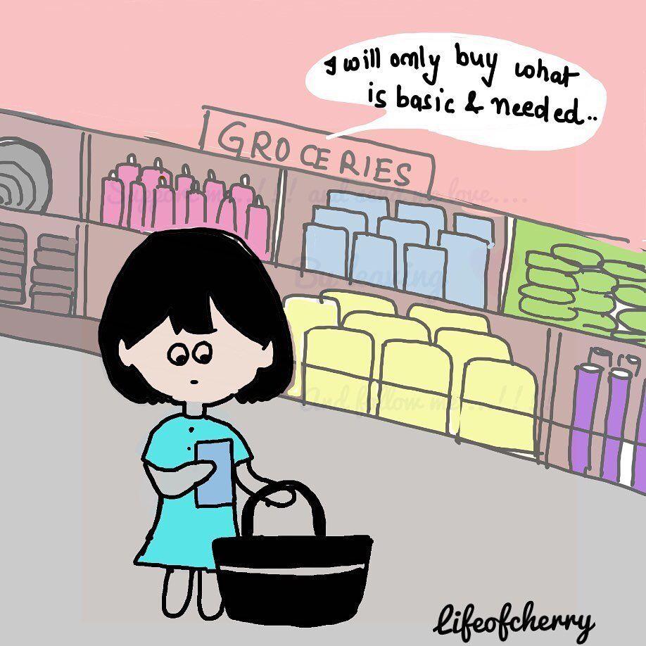 "Lifeofcherry on Instagram: ""How my save money !!! Mission goes on!!!!!..... . . #happydoodlecorner #doodle #lifeofcherry #shopping #shoppingaddict #savingmoney…"""