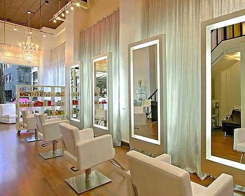 How To Decorate Buy Equipment And Organize Your New Hair Salon What You Need Beautystat Com Salon Interior Design Hair Salon Design Hair Salon Interior