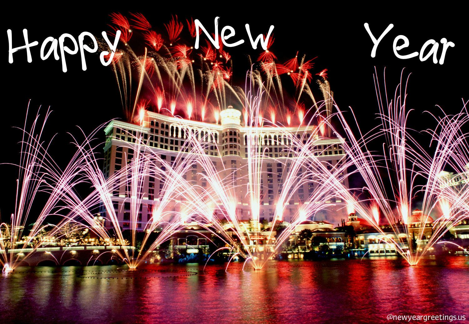 happy new years 2014 happy new year wallpapers 2014 download fountain viva las vegas