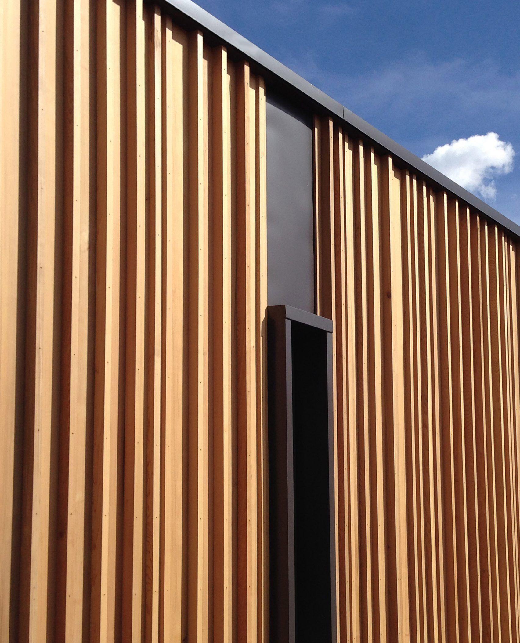 Studio B Builds Colorado School With Weathering Steel And Red Cedar Walls Cedar Walls Weathering Steel Red Cedar