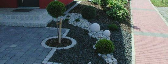 vorgarten und einfahrt gestalten - praktische gartengestaltung, Hause und garten
