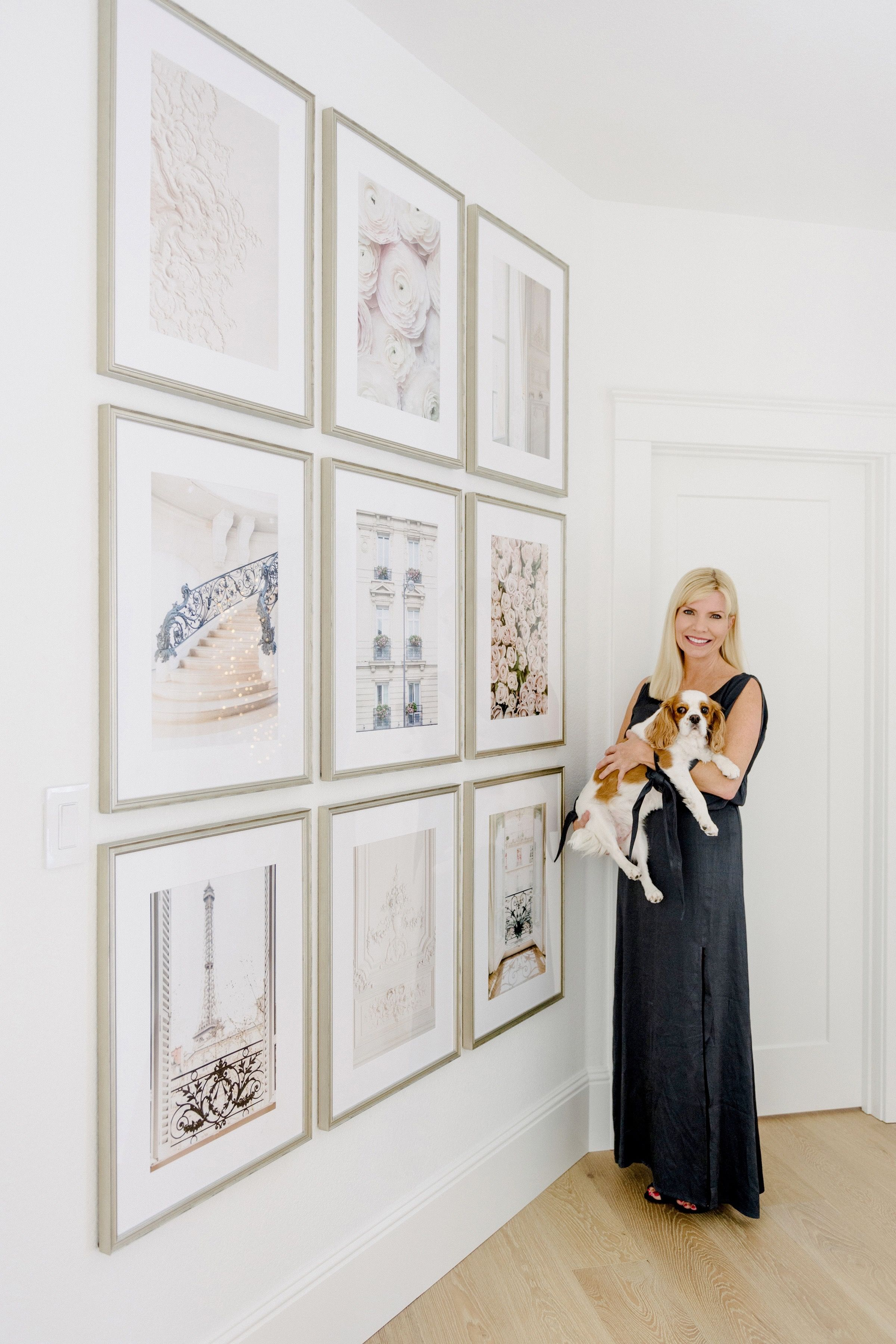 Grid Gallery Wall with Framebridge and KristyWicks   Gallery wall ...