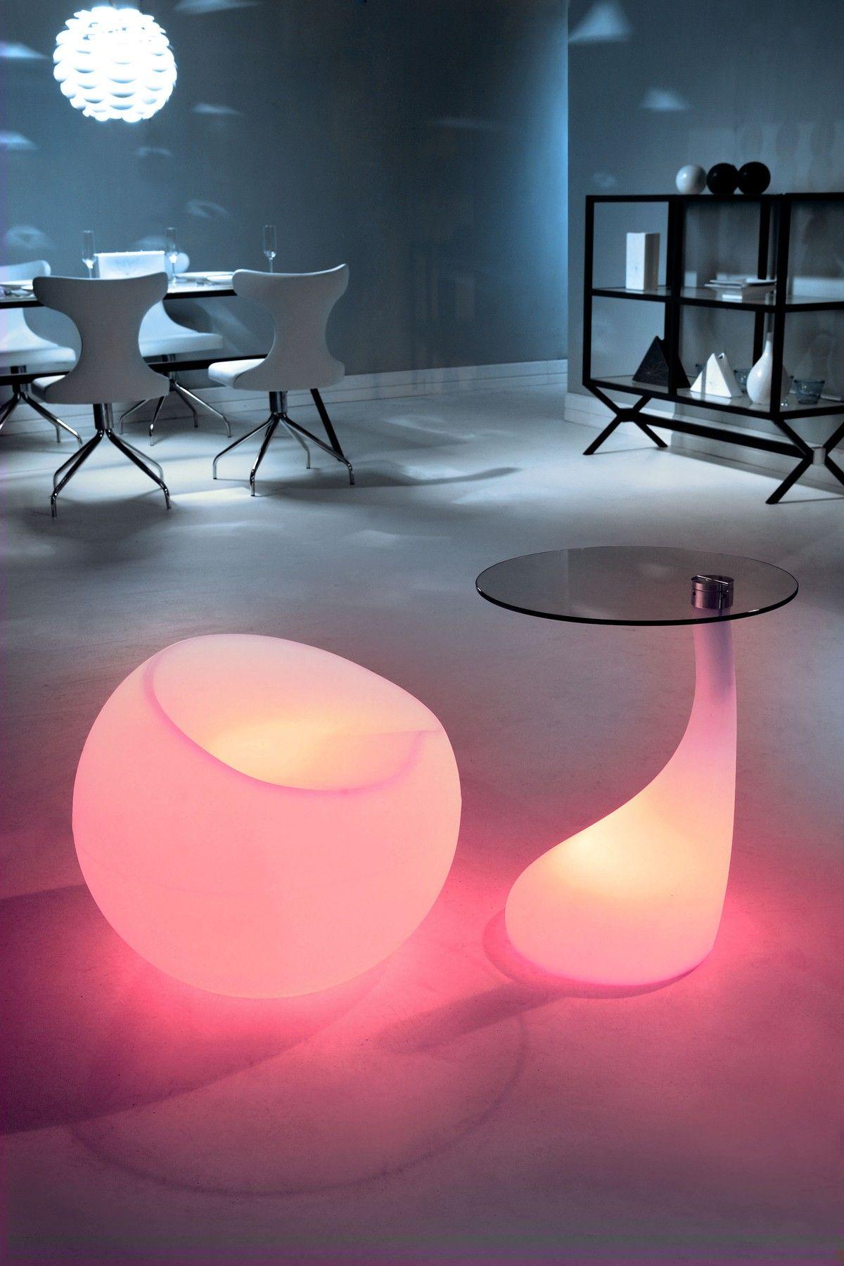 Jupiter lumen side table zuo modern led furniture funky furniture contemporary furniture
