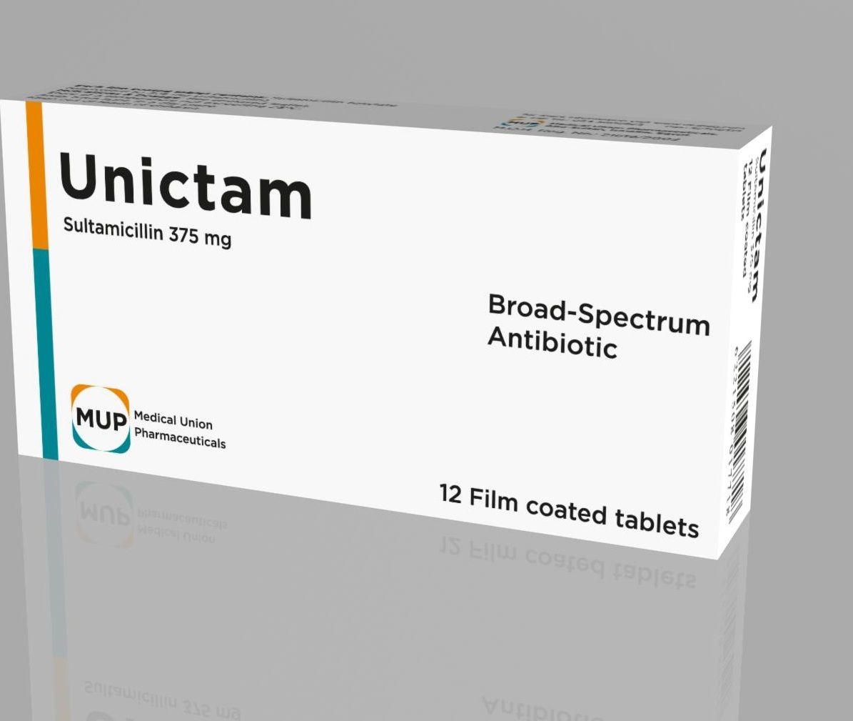 دواء يونيكتام Unictam استخدامات علاج يونيكتام للحامل مضاد حيوي للاطفال Medical Pharmaceutical Antibiotic