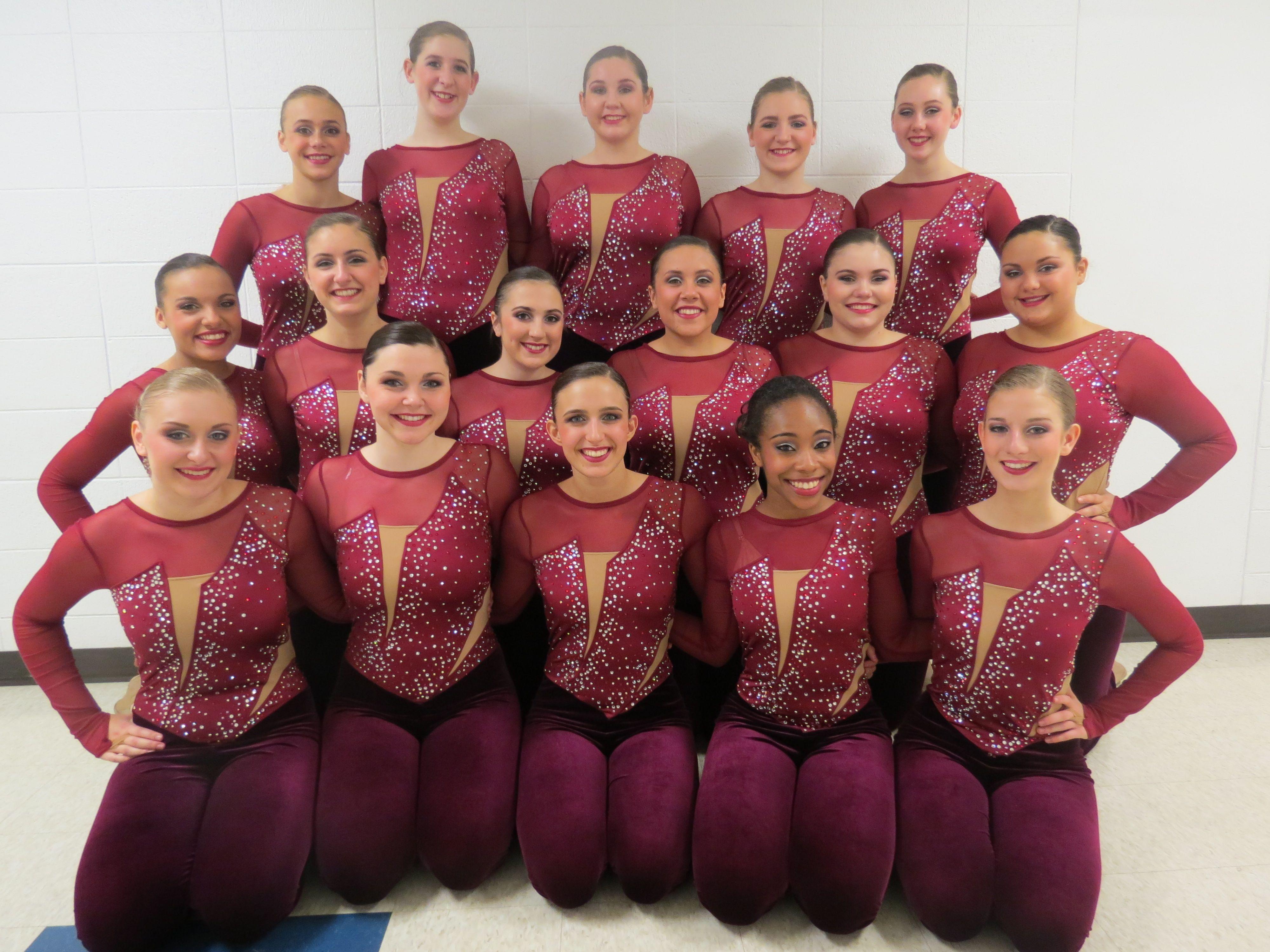 High School Drill Team Dresses